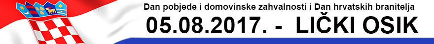 LokalnaHrvatska.hr Gospić Dan pobjede i domovinske zahvalnosti i Dan hrvatskih branitelja